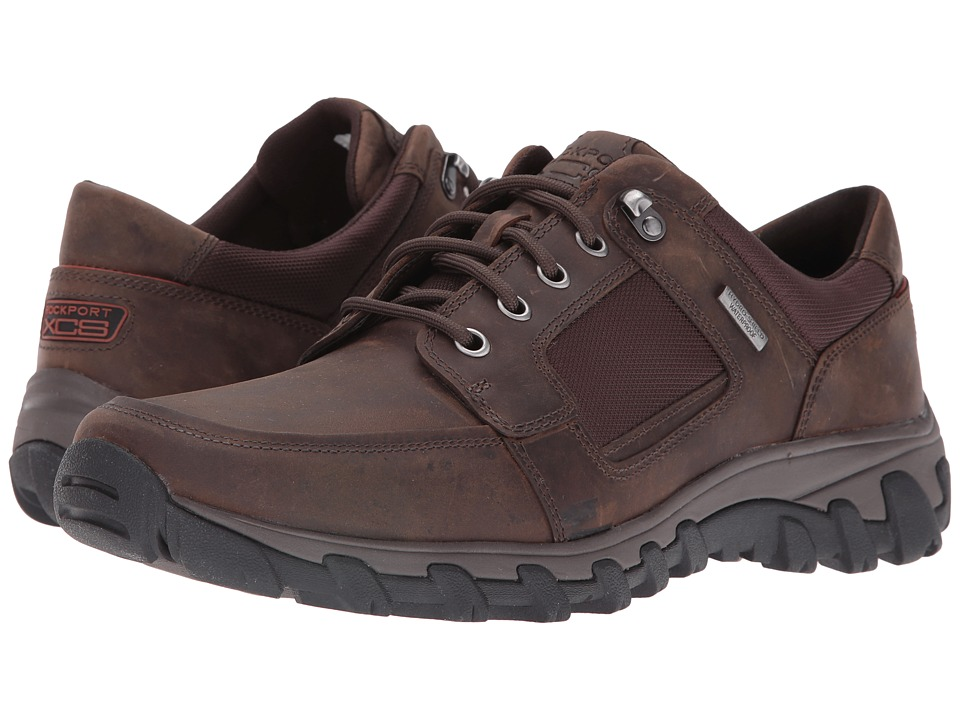 Rockport - Cold Springs Plus Lace To Toe (Dark Brown) Men