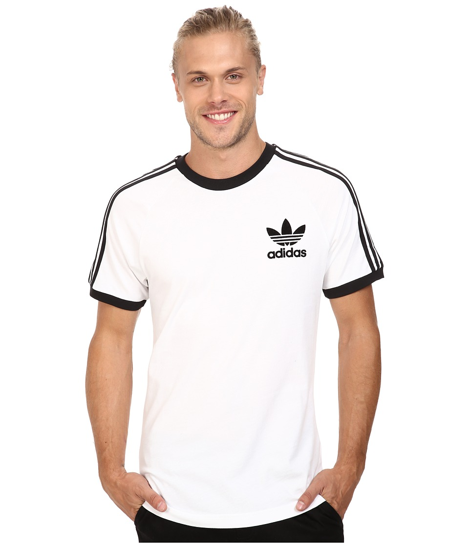 adidas Originals California Tee (White/Black 2) Men