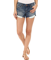 Blank NYC - Shorter in the Front and Longer in the Back Cut-Off Denim Shorts