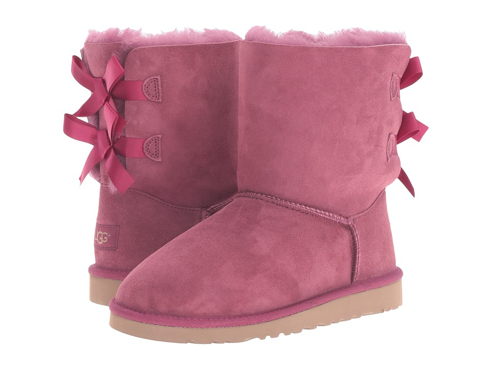 UGG Kids Bailey Bow (Big Kid) (Bougainvillea) Girls Shoes