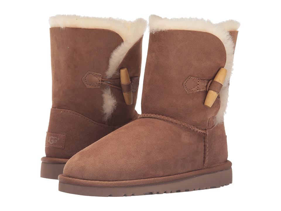 UGG Kids - Ebony (Big Kid) (Chestnut) Girls Shoes
