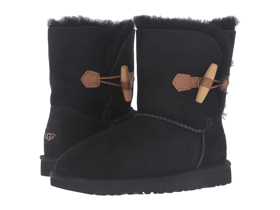 UGG Kids Ebony (Big Kid) (Black) Girls Shoes