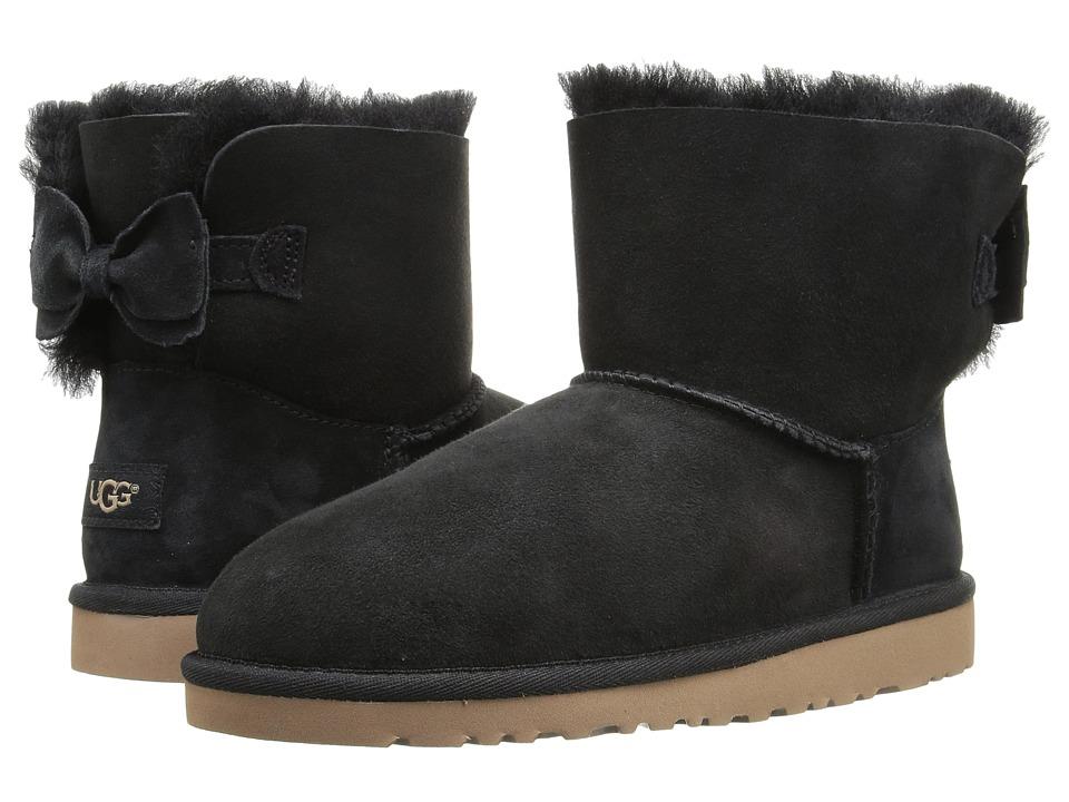 UGG Kids Kandice (Big Kid) (Black) Girls Shoes