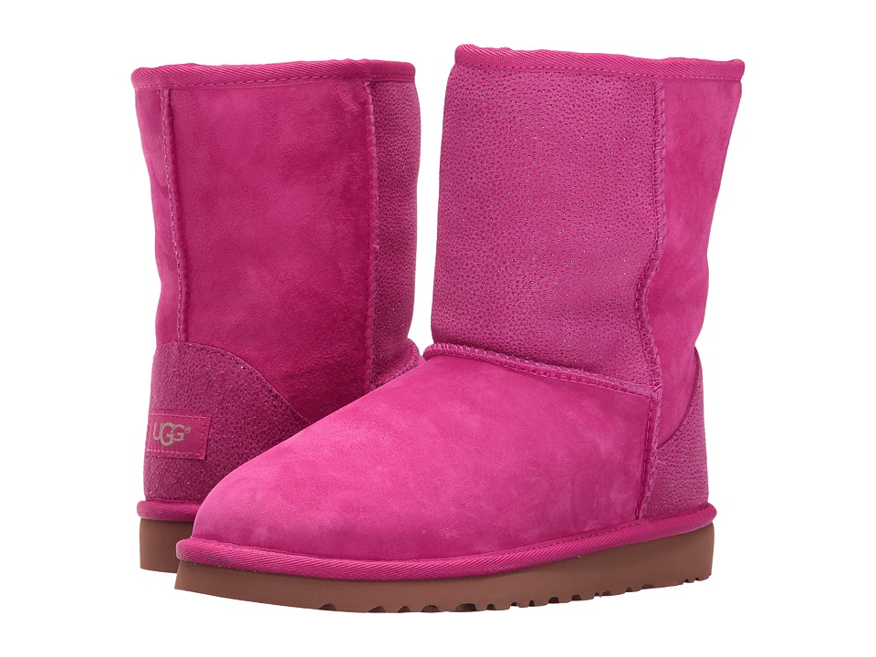 Ugg Kids - Classic Short Serein (Big Kid) (Diva Pink) Gir...