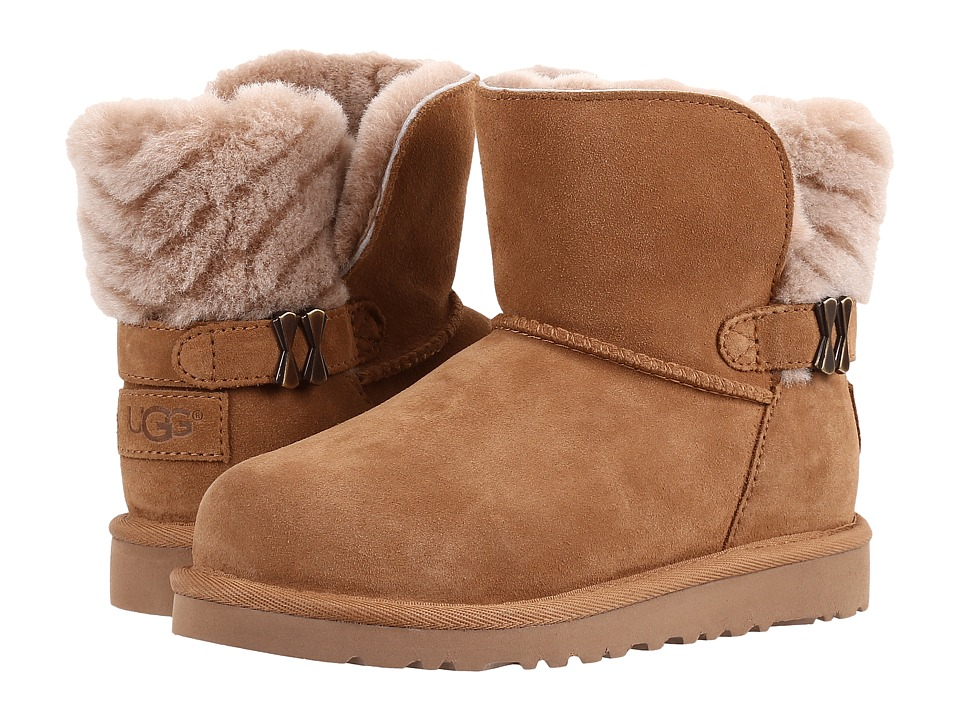 UGG Kids Analia (Little Kid/Big Kid) (Chestnut) Girls Shoes