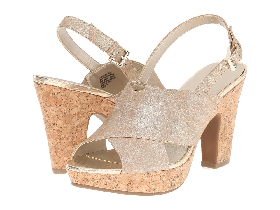Bandolino Mopina Light Gold Synthetic Womens Shoes