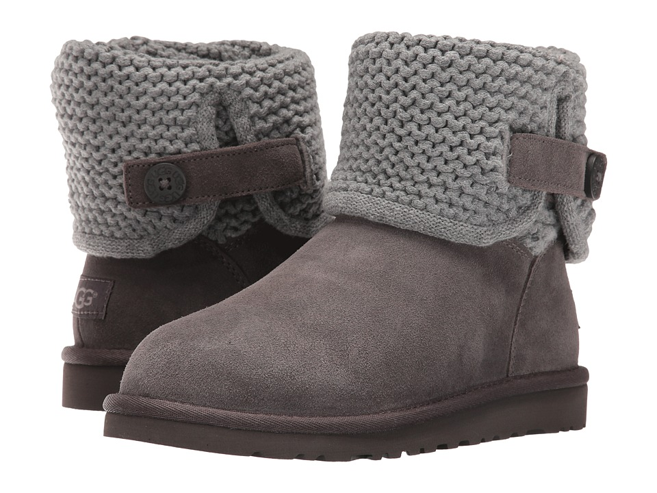 UGG Kids Darrah (Big Kid) (Grey) Girls Shoes
