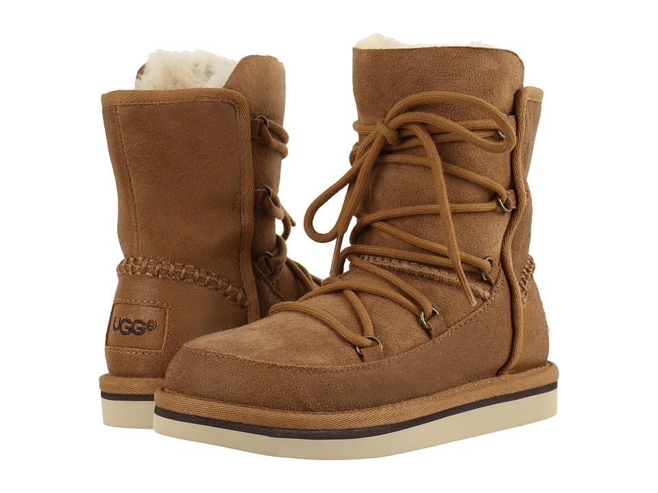 UGG Kids Eliss (Little Kid/Big Kid) (Chestnut) Girls Shoes