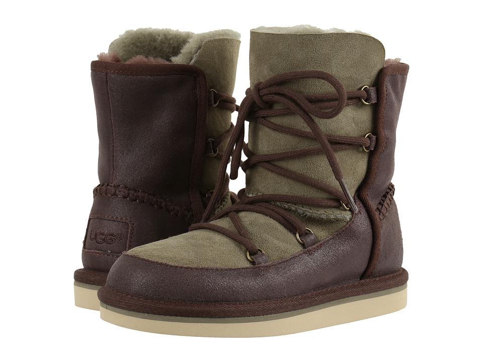 UGG Kids Eliss (Little Kid/Big Kid) (Chocolate) Girls Shoes