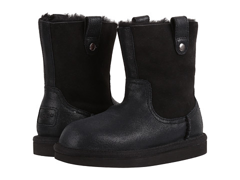 UGG Kids Haydee (Little Kid/Big Kid) - Black