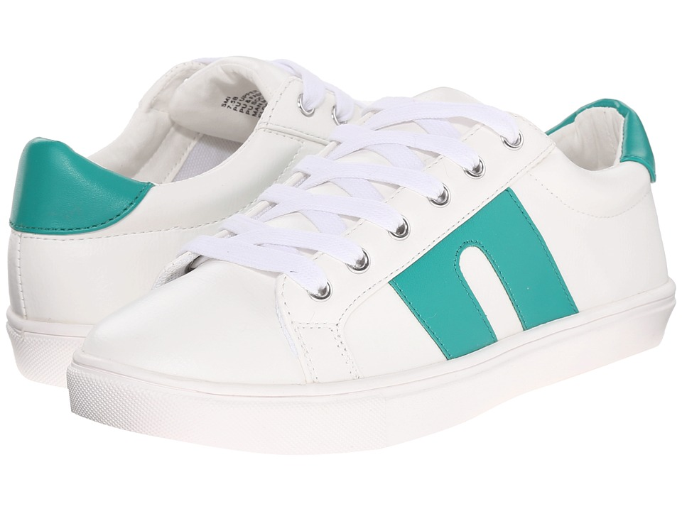 Steve Madden SM1 White Multi Womens Lace up casual Shoes