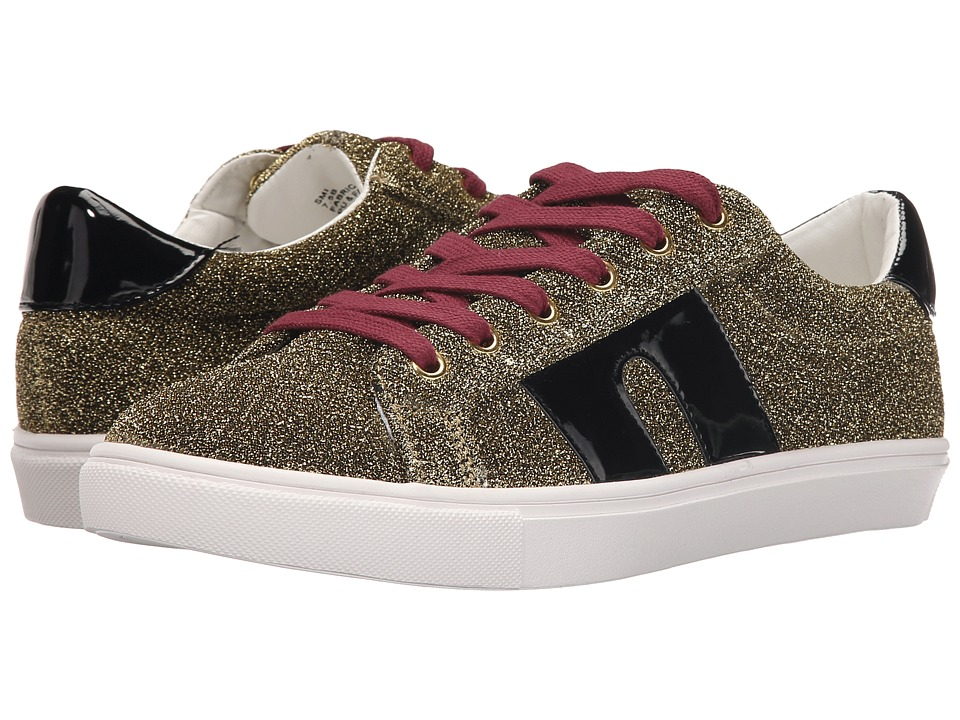 Steve Madden SM1 Gold Multi Womens Lace up casual Shoes