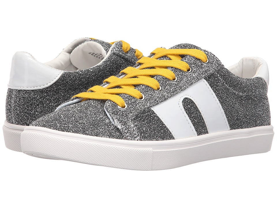 Steve Madden SM1 Silver Multi Womens Lace up casual Shoes