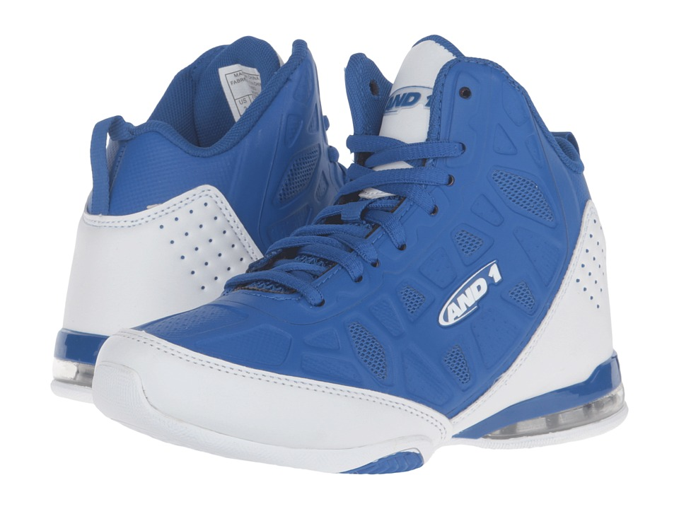 AND1 Kids - Master 3 (Little Kid/Big Kid) (Royal/White) Boys Shoes