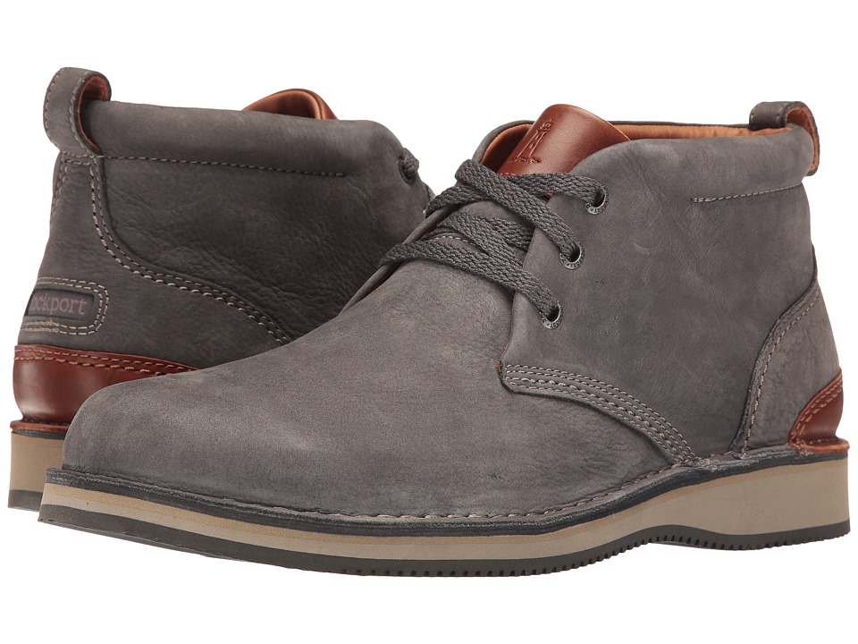 Rockport Prestige Point Chukka (Charcoal) Men