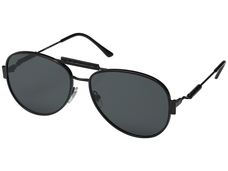 Versace VE2167Q Matte Black/Grey Fashion Sunglasses