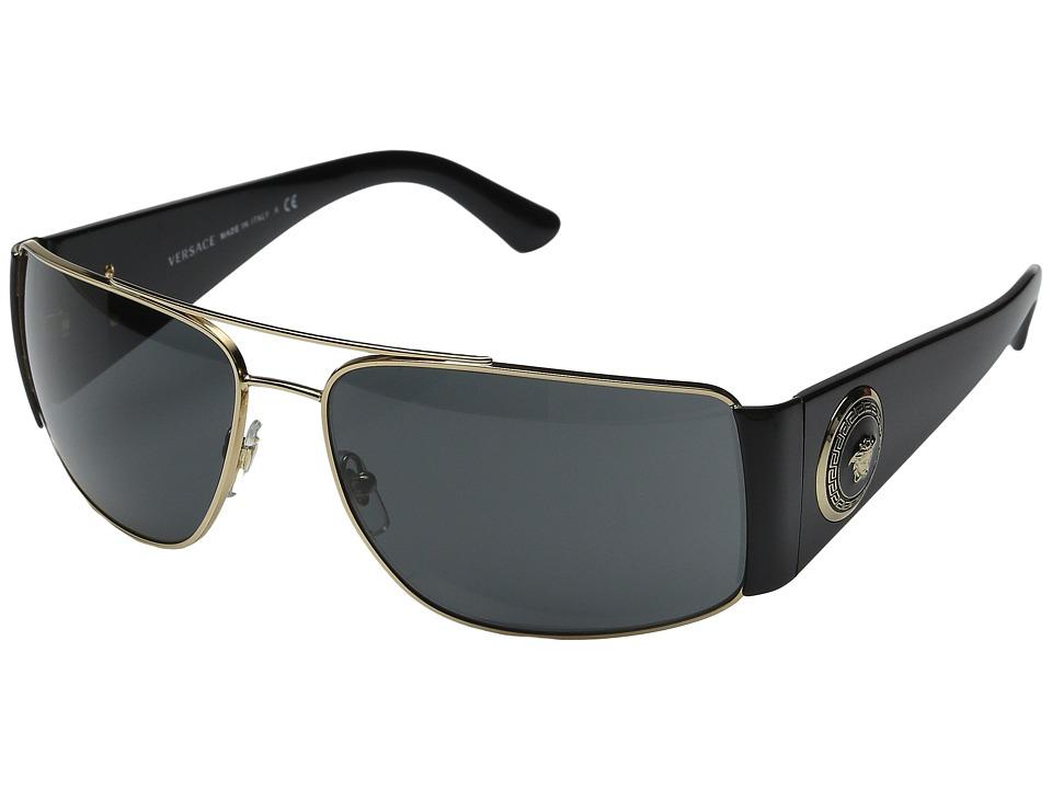 Versace VE2163 Gold/Black/Grey Fashion Sunglasses