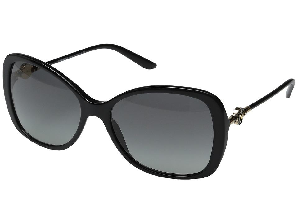 Versace VE4303 Black/Gold/Grey Gradient Fashion Sunglasses
