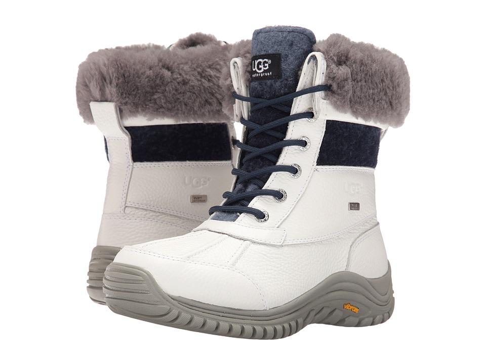 UGG Adirondack Boots II (White 2) Women's Boots