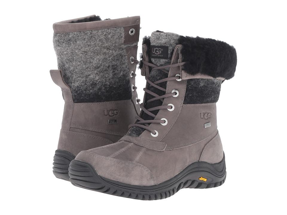 UGG Adirondack Boots II (Charcoal) Women's Boots
