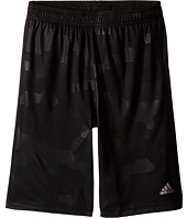 adidas Kids - Embossed Digi Camo Shorts (Big Kids)