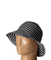 LAUREN Ralph Lauren - Poly Striped Signature Grosgrain Bucket Hat