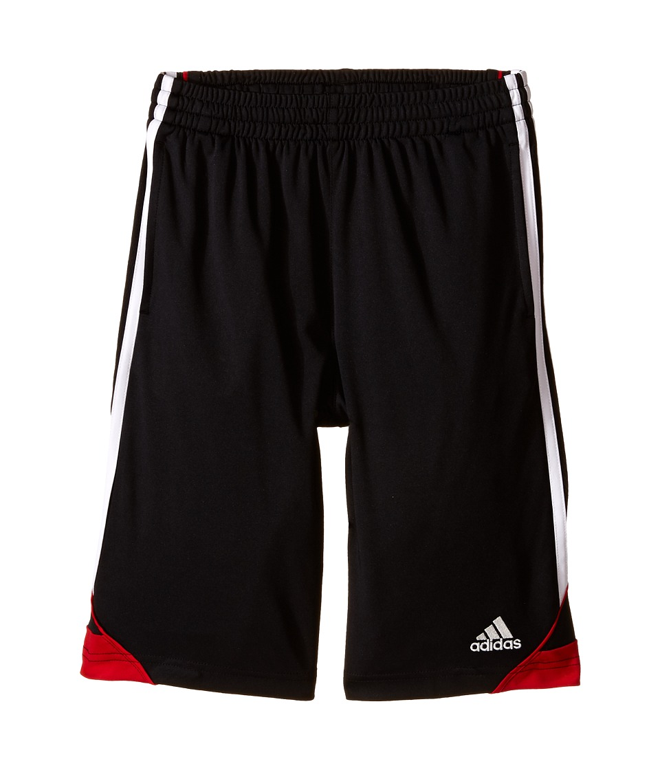 adidas Kids 3G Speed Shorts Big Kids Black/Scarlet Boys Shorts