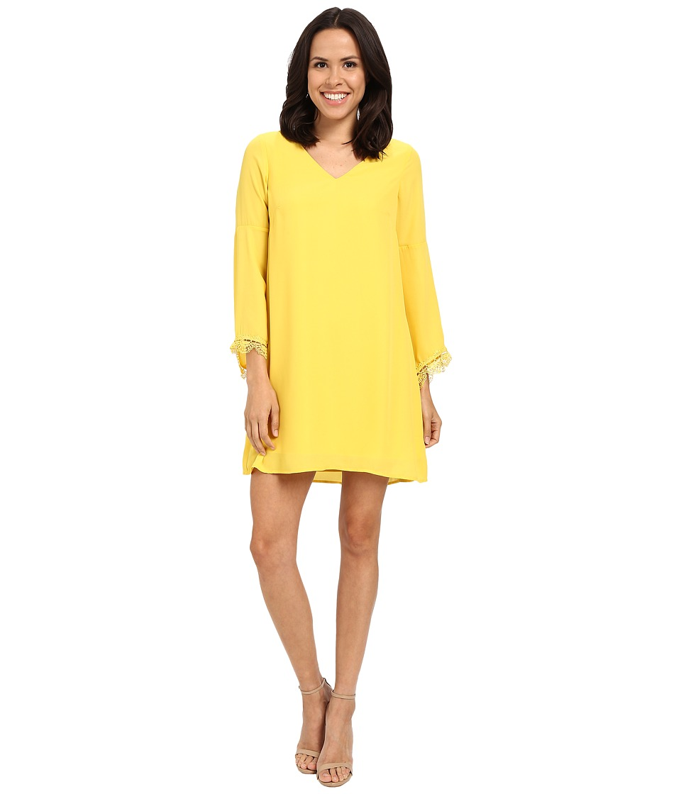 CATHERINE Catherine Malandrino Babs Dress Tostone Yellow Womens Dress