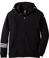 adidas Kids - Streetball Full Zip Hoodie (Big Kids)
