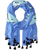 Kate Spade New York - Seahorse Oblong Scarf