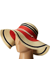 LAUREN Ralph Lauren - Paper Straw Blocked Stripe Sun Hat