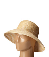LAUREN Ralph Lauren - Braided Top Stitched Raffia Sun Hat