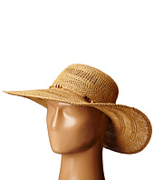 LAUREN Ralph Lauren - Paper Straw Open Weave Tassel Beach Hat