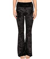 Onzie - Black Velvet Flare Pants