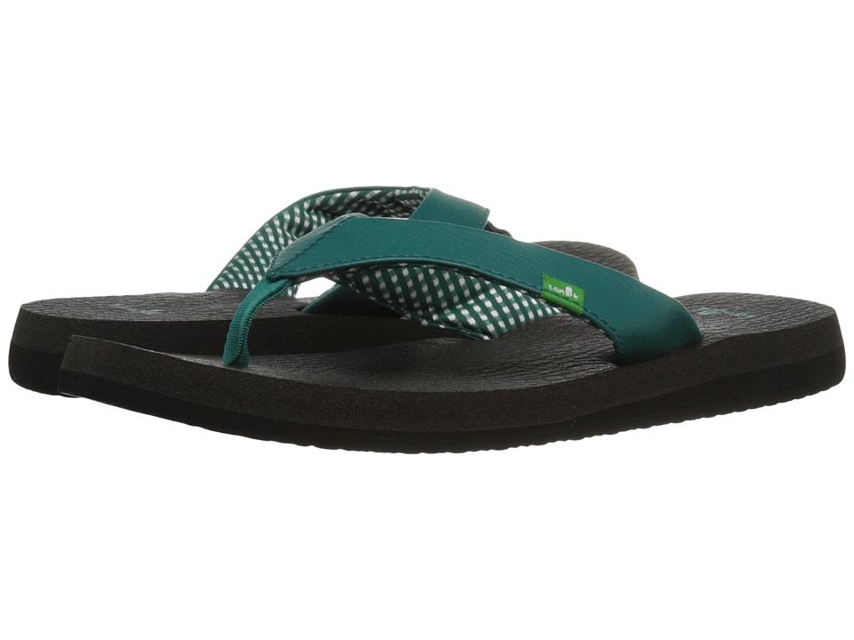 Sanuk Yoga Mat (Evergreen) Sandals