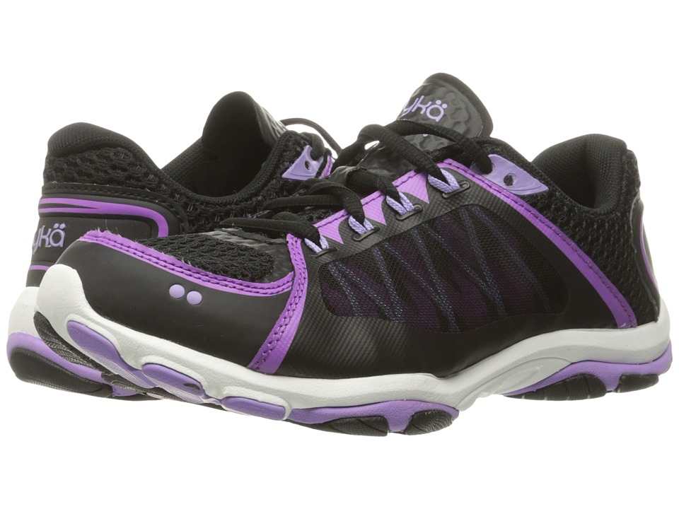 Ryka Influence 2.5 (Black/Sugar Plum/Purple Ice) Women's Shoes