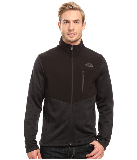 The North Face Norris Full Zip - TNF Black Heather/TNF Black/Asphalt Grey