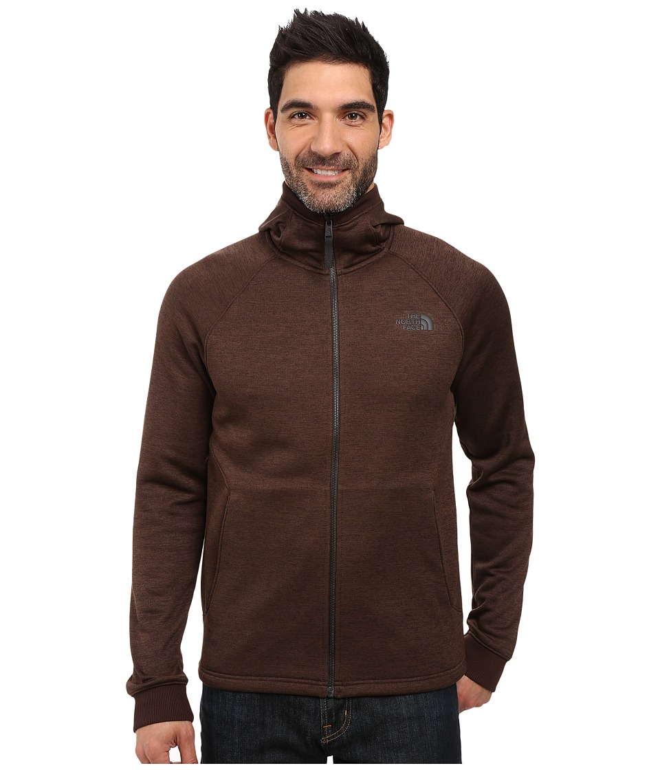 The North Face - Norris Point Hoodie (Coffee Bean Brown Heather) Men