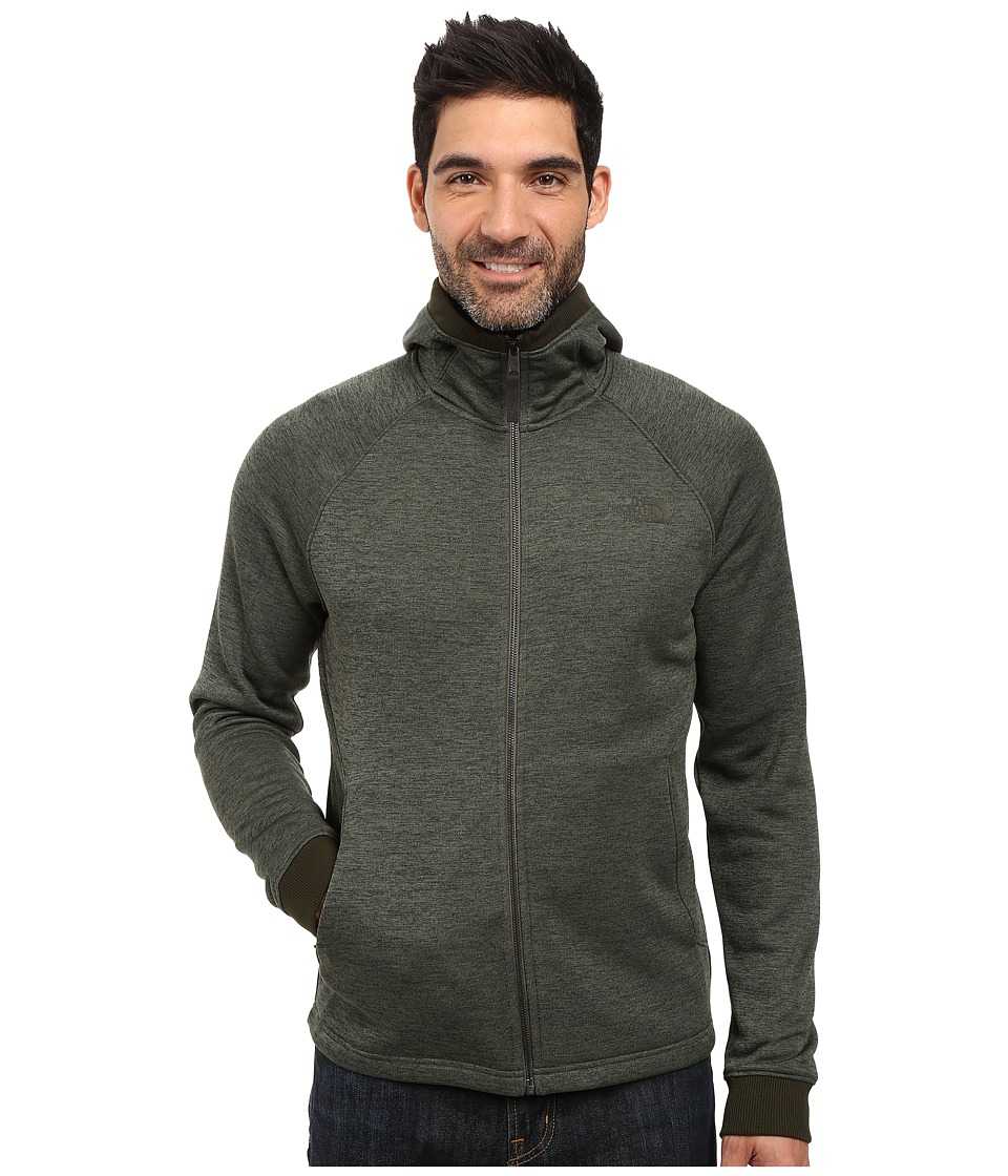 The North Face - Norris Point Hoodie (Climbing Ivy Green Heather) Men