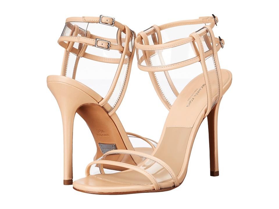 Michael Kors Brittany Runway (Nude Smooth Calf/Vinyl) High Heels