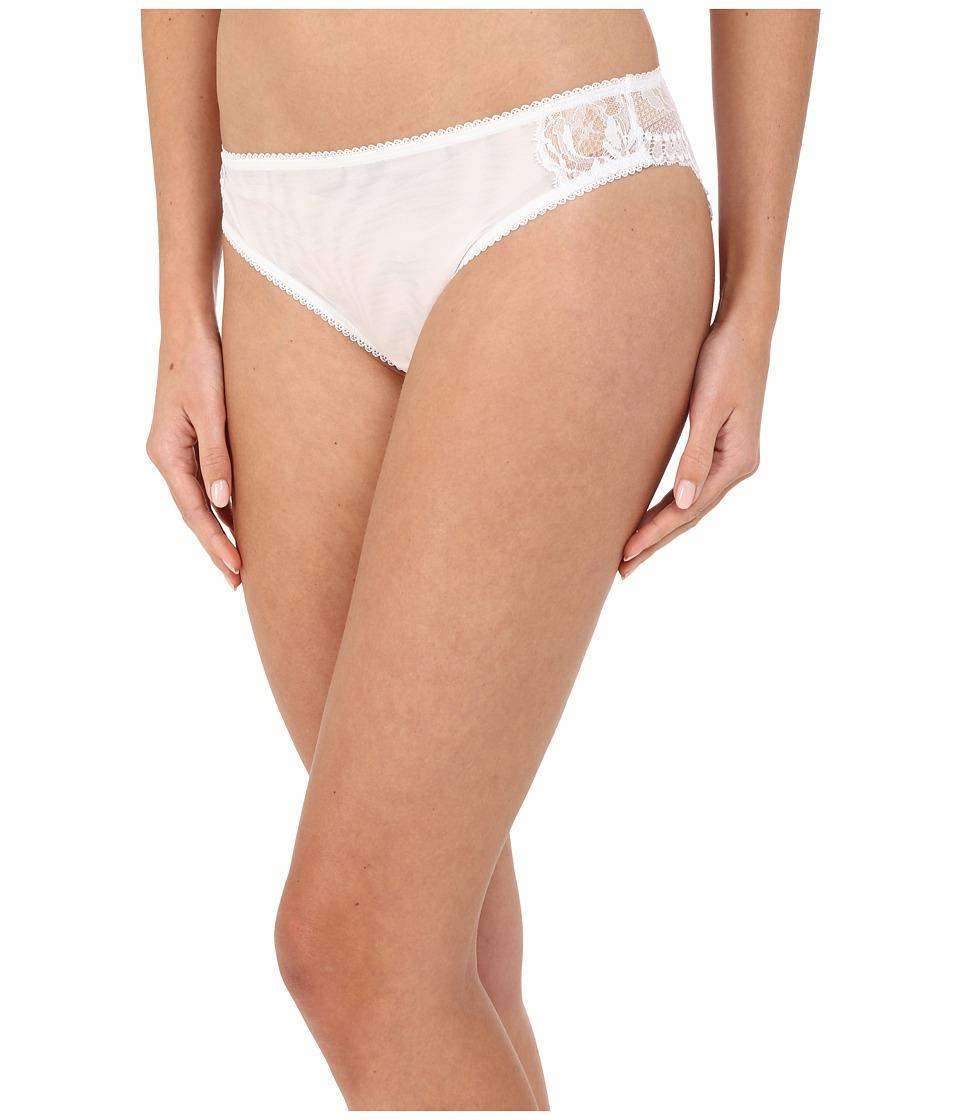 La Perla Begonia Brief White Womens Underwear