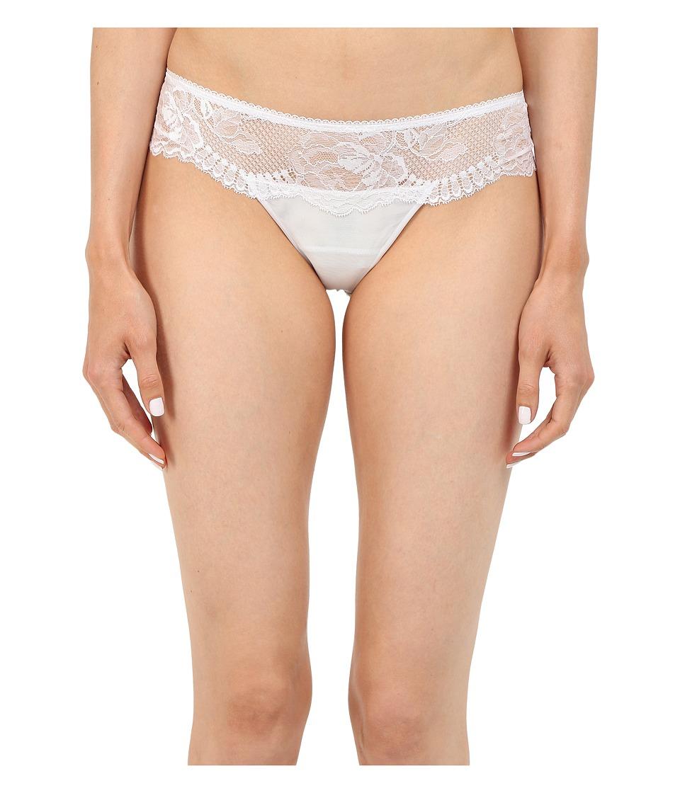La Perla Begonia Thong White Womens Underwear