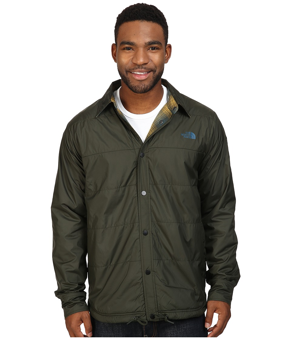 The North Face Fort Point Flannel Jacket (Rosin Green) Men