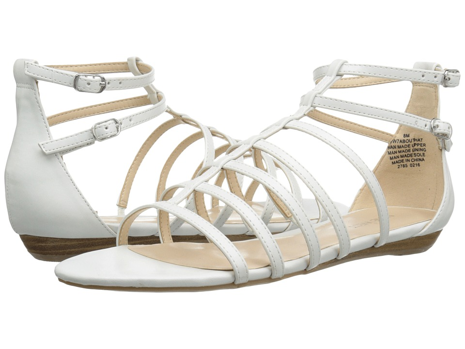 Nine West Aboutthat (White Synthetic) Women