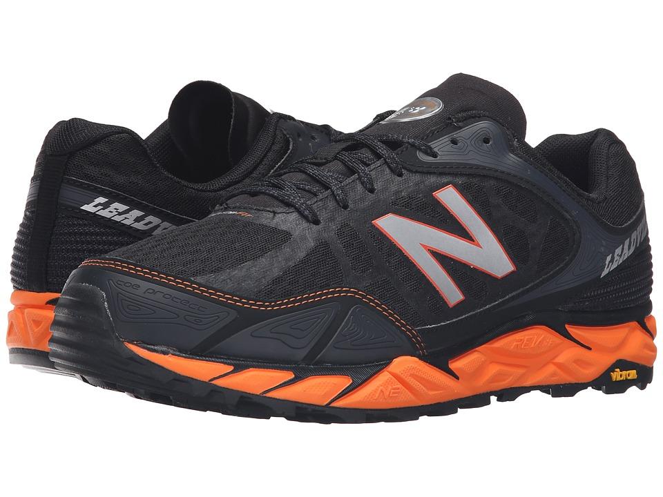 New Balance - Leadville v3 (Black/Orange) Mens Running Shoes