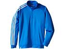 adidas Golf Kids 3-Stripes Jacket (Big Kids) (Orange/Shock Blue)