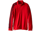 adidas Golf Kids 3-Stripes Jacket (Big Kids) (Red/Power Red)