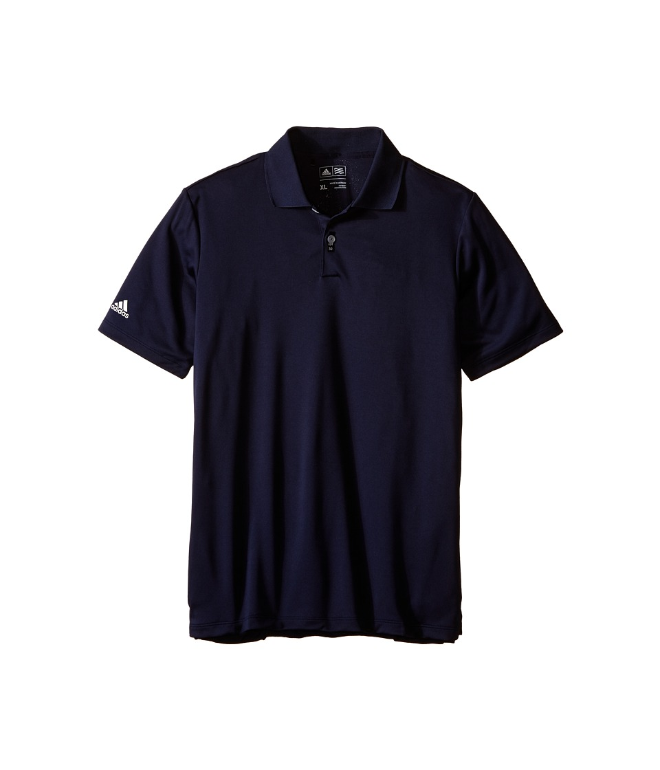 adidas Golf Kids - Performance Polo (Big Kids) (Navy/Navy) Boys Clothing