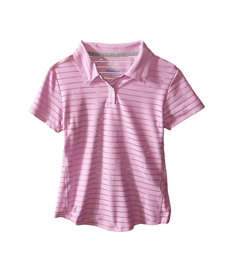 adidas Golf Kids Essential Cotton Hand Stripe Polo (Big Kids)