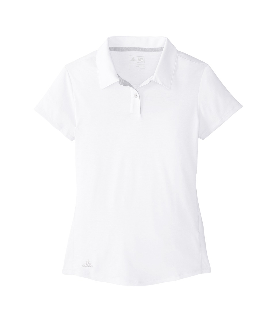 adidas Golf Kids adidas Golf Kids - Climalite Essentials Short Sleeve Heathered Polo
